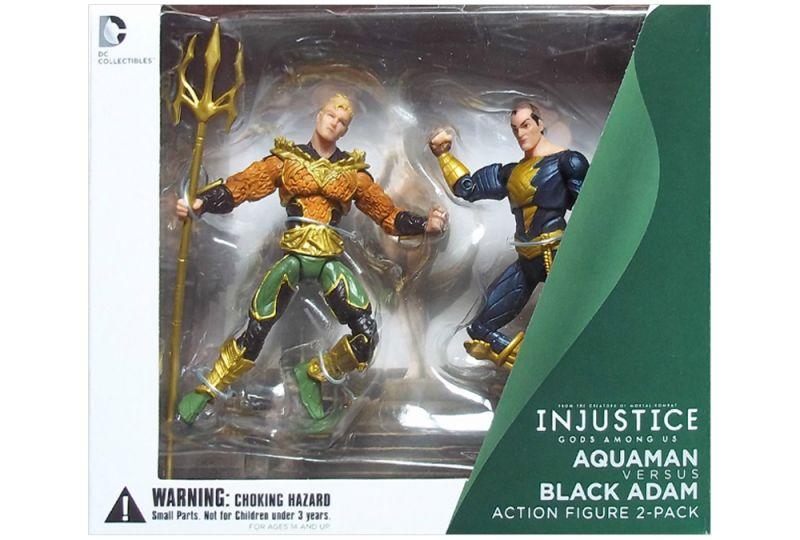 Aquaman vs. Black Adam