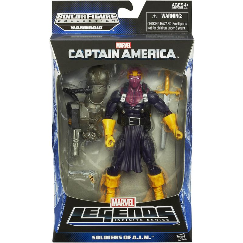 Baron Zemo (Soldiers of A.I.M.; Mandroid Series)