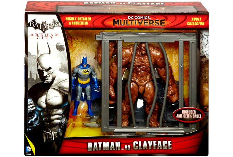 Batman vs. Clayface