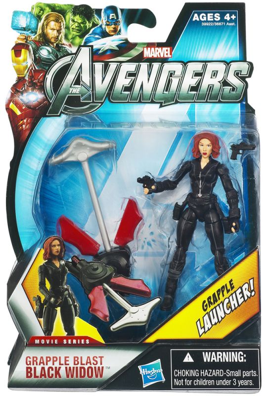 Black Widow (Grapple Blast; Movie Series)