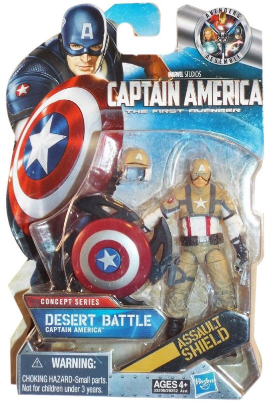 Captain America (Desert Battle)