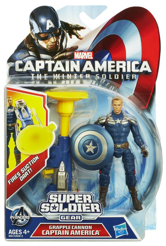 Captain America (Grapple Cannon)