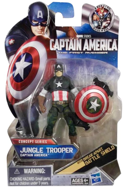 Captain America (Jungle Trooper)