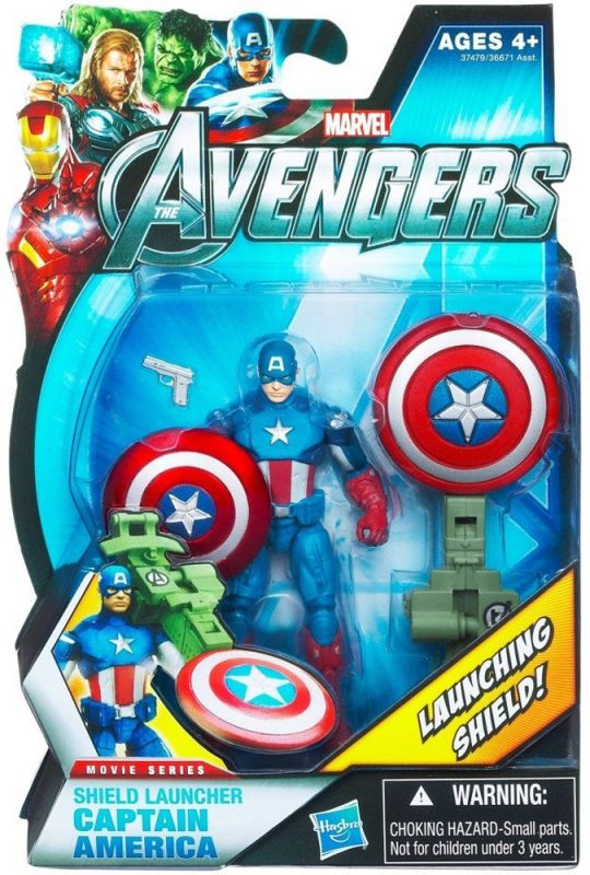 Captain America (Shield Launcher)