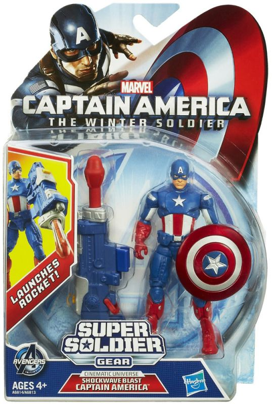 Captain America (Shockwave Blast)