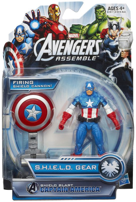 Captain America (Shield Blast)
