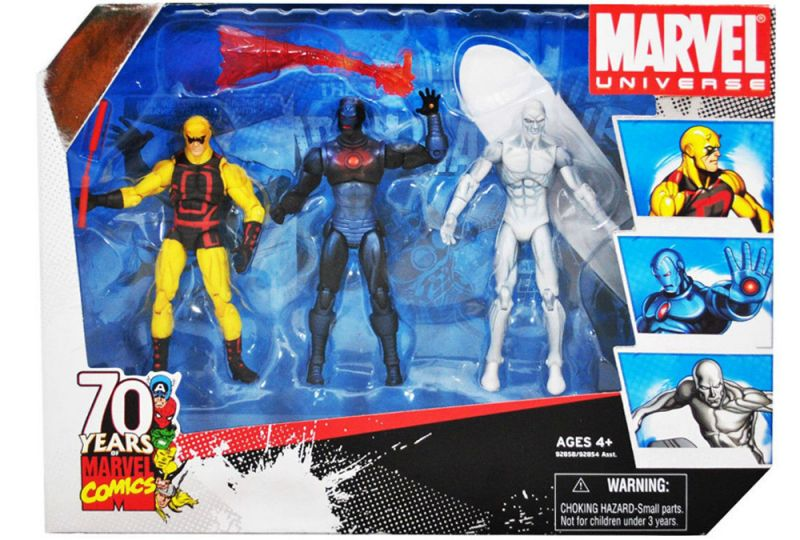 Daredevil, Iron Man (Stealth Operations), Silver Surfer (70th Anniversary)
