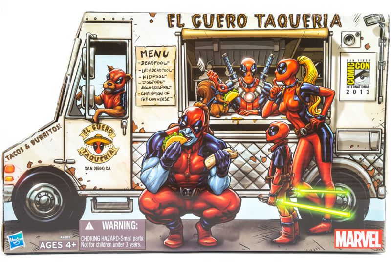 Deadpool Corps Pack (Taco Truck)