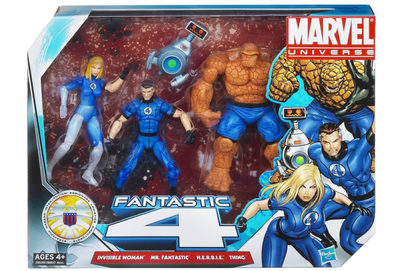 Fantastic Four (Invisible Woman; Mr. Fantastic; Thing; H.E.R.B.I.E.)