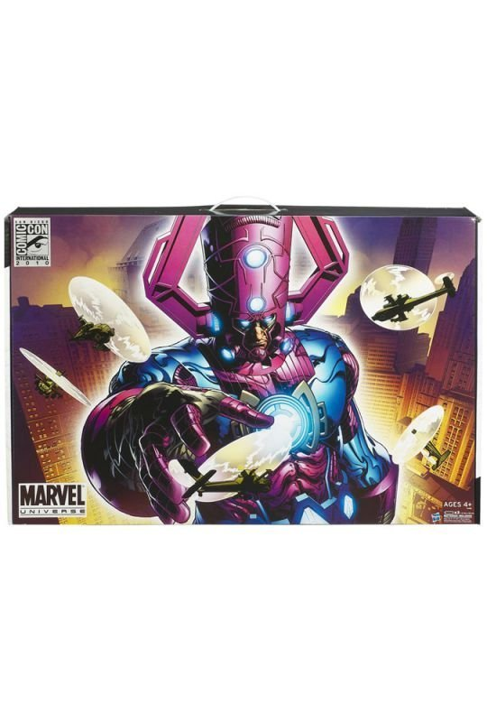 Galactus vs. Silver Surfer (Ultimate Alliance; Purple Version)