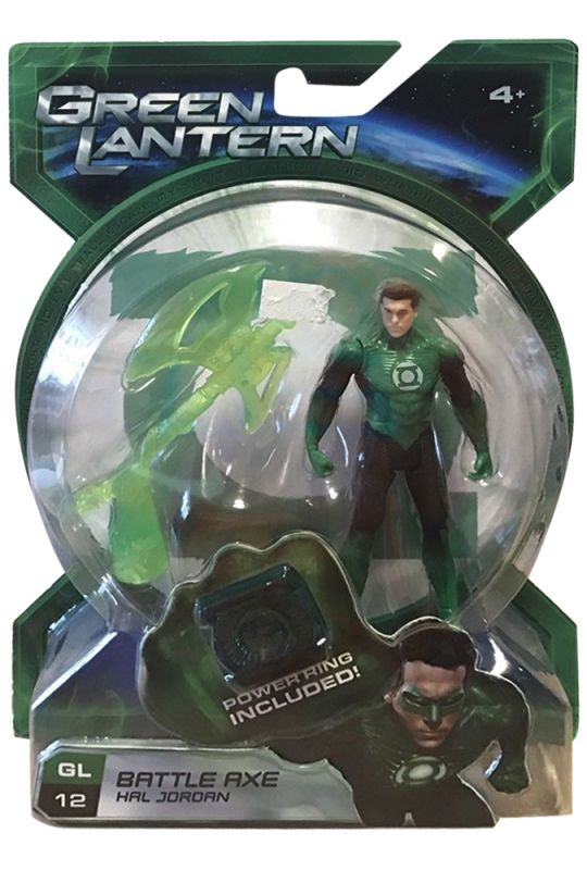 Hal Jordan (Battle Axe; no Mask)