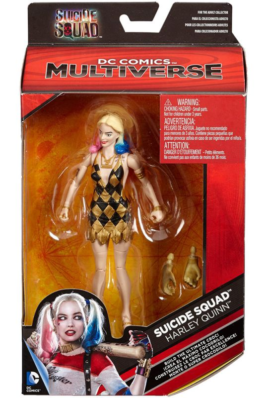 Harley Quinn (Gold & Black Dress; Suicide Squad)