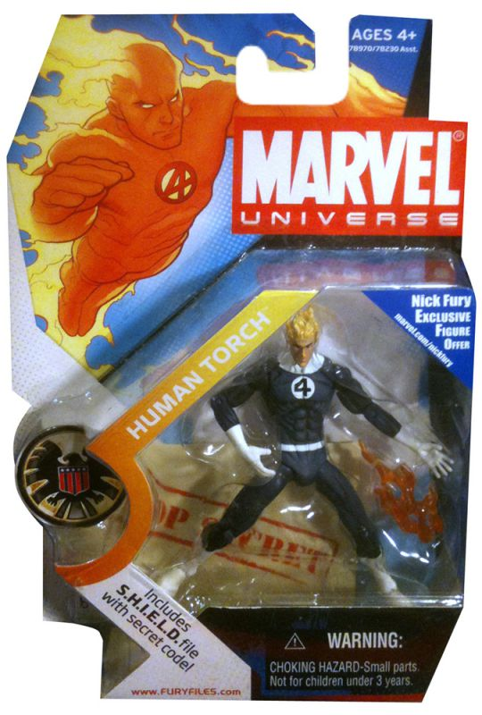 Human Torch (Negative Zone Costume Variant)