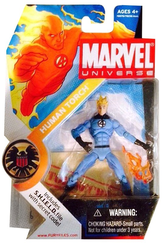 Human Torch (Classic Costume Variant)