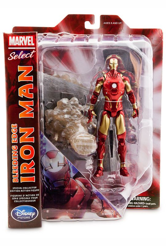 Iron Man (Bleeding Edge; Disney Exclusive)