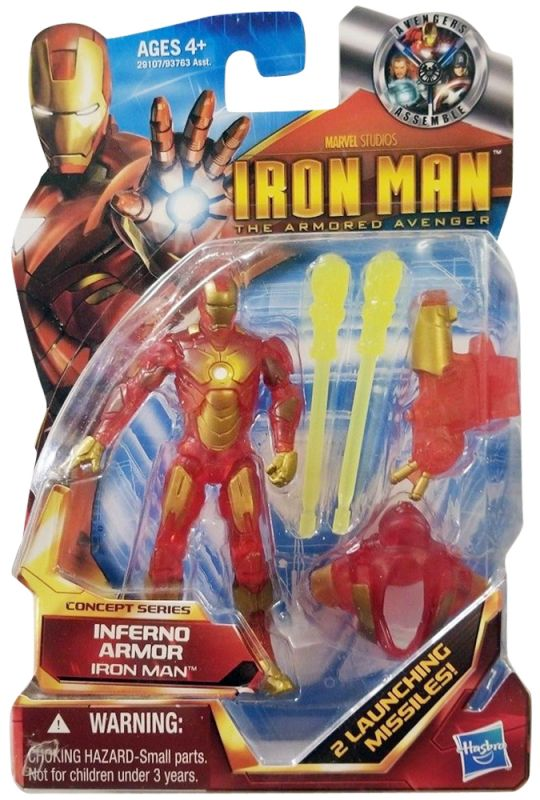 Iron Man (Inferno Armor; Armored Avenger)