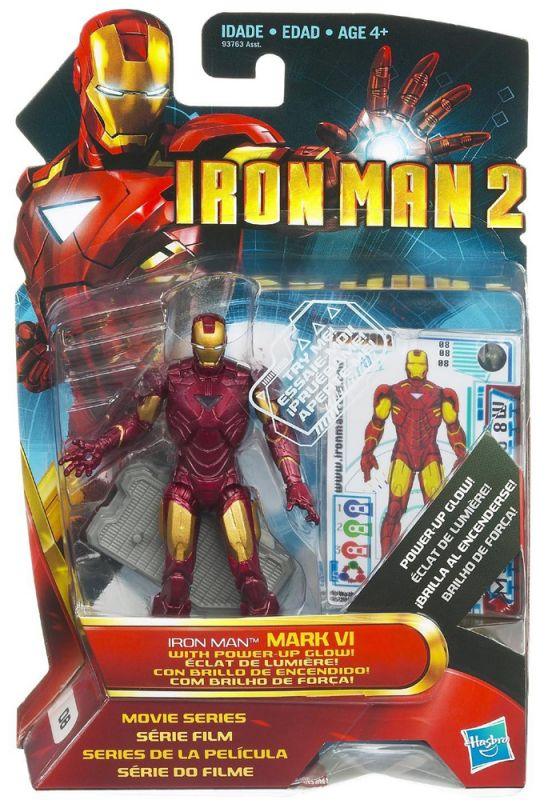 Iron Man (Mark VI; Power-Up Glow;; Movie Series)