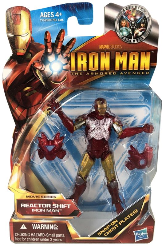 Iron Man (Reactor Shift; Armored Avenger)