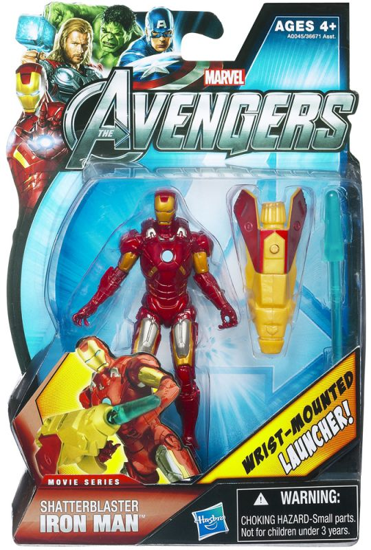 Iron Man (Shatter Blaster; Movie Series)
