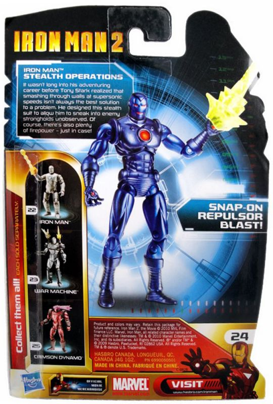 Iron Man (Stealth Operations; Comic Series)