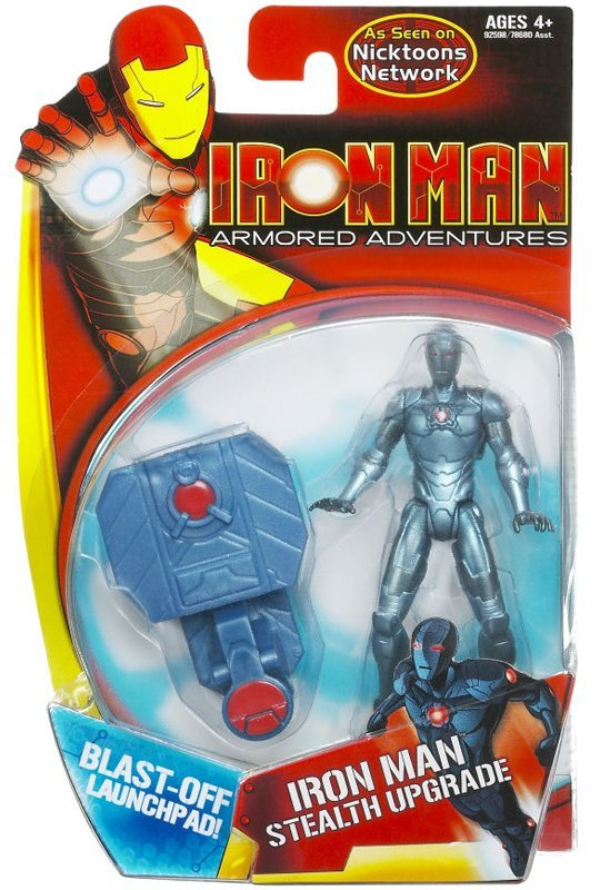 Iron Man (Stealth Upgrade; Armored Adventures)