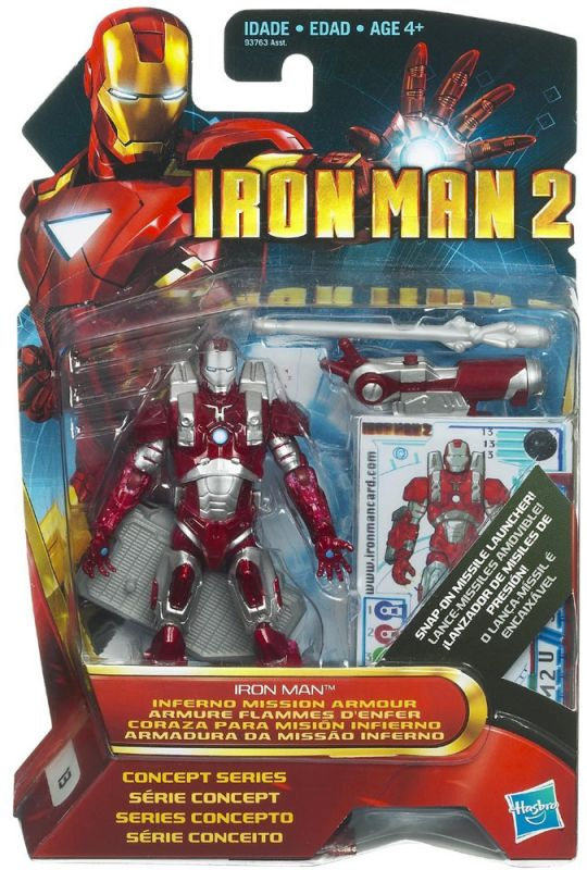 Iron Man (Inferno Mission Armor; Concept Series)