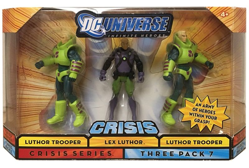 Lex Luthor & Lexcorp Troopers (Blonde Hair; Three Pack)