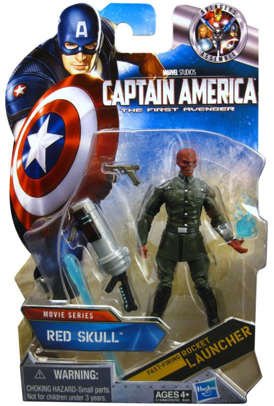 Red Skull (with Red Gloves)