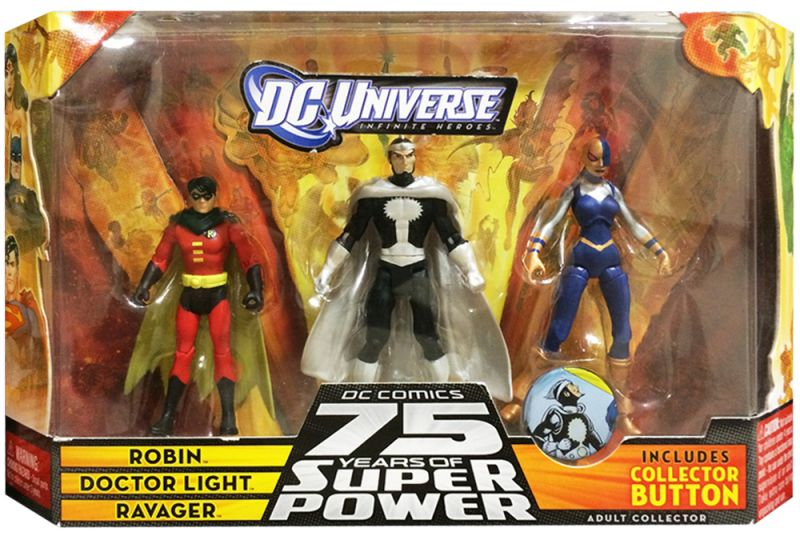 Robin; Doctor Light; Ravager (75 Years of Super Power)