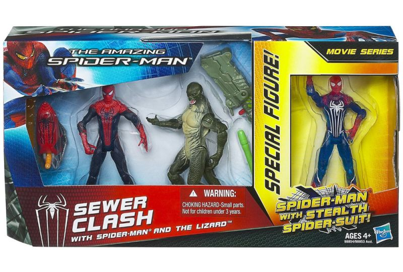 Sewer Clash with Spider-Man & The Lizard