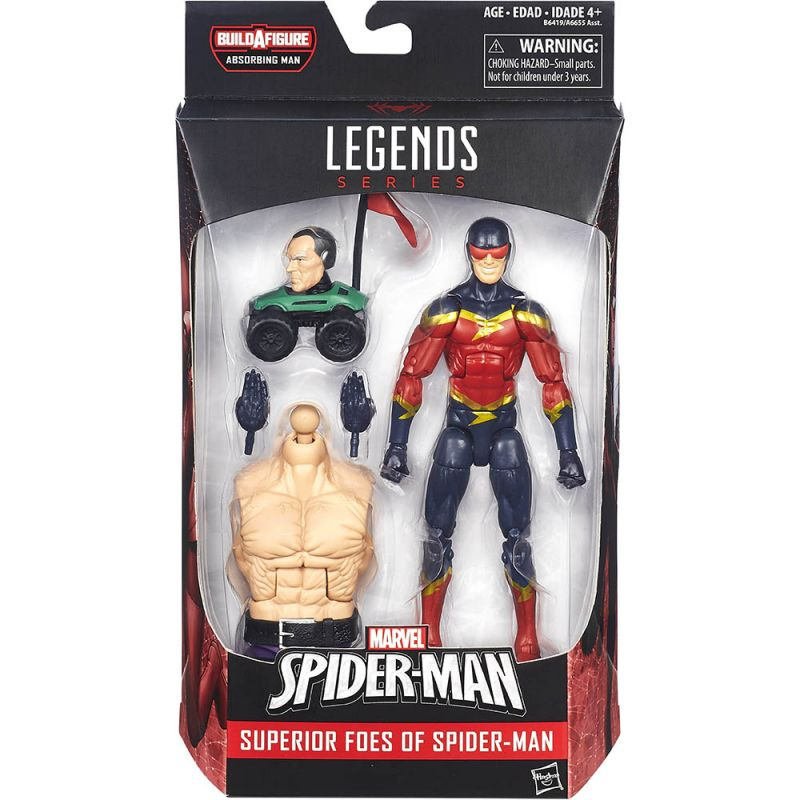Speed Demon (with Silvermane RC Car; Absorbing Man Series)