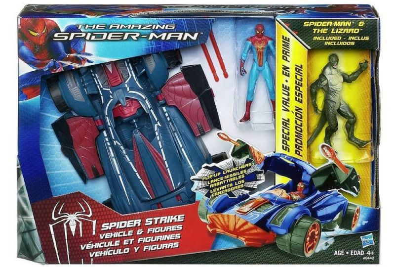 Spider Strike (Vehicle & Figures)