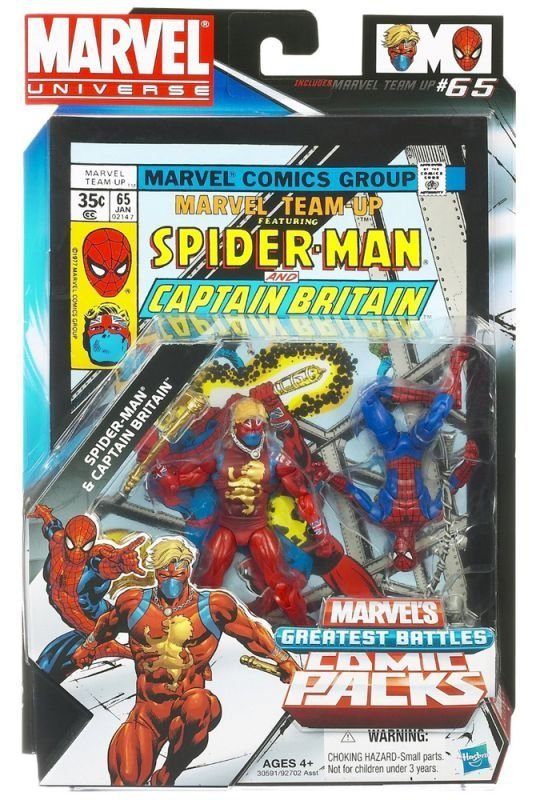 Spider-Man & Captain Britain