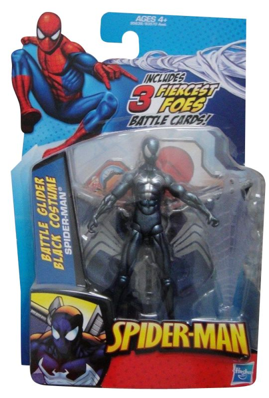 Spider-Man (Battle Glider; Black Costume)
