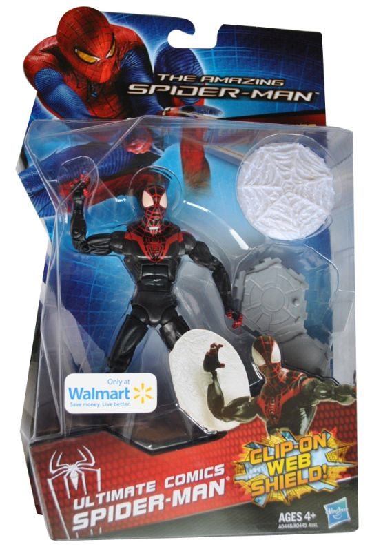 Spider-Man (Clip-On Web Shield)
