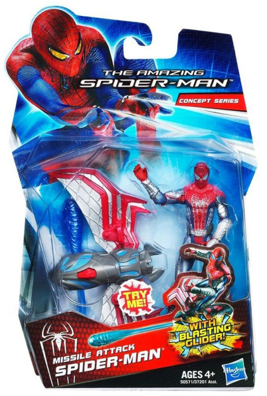 Spider-Man (Missile Attack; Concept Series)