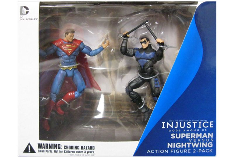 Superman vs. Nightwing