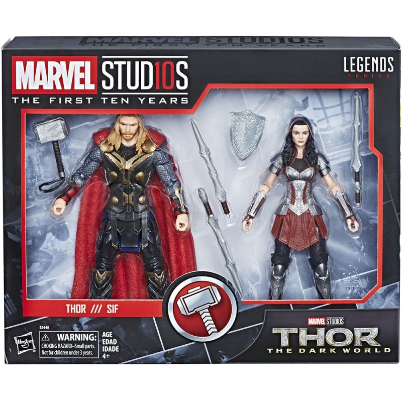Thor & Sif (10 Years of Marvel Studios)