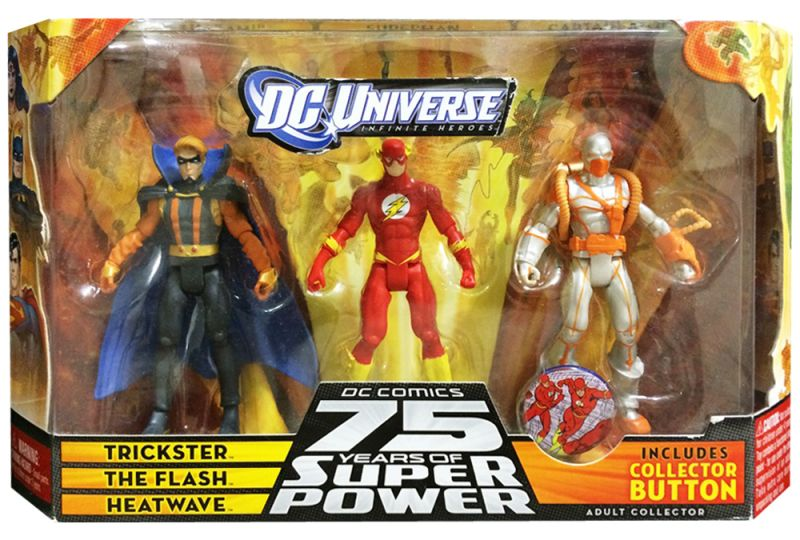 Trickster; The Flash; Heatwave (75 Years of Super Power)
