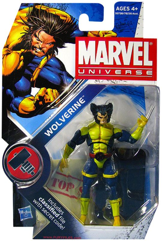 Wolverine (X-Men Team Uniform; First Head Version)