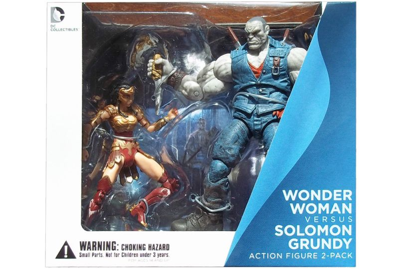 Wonder Woman vs. Solomon Grundy