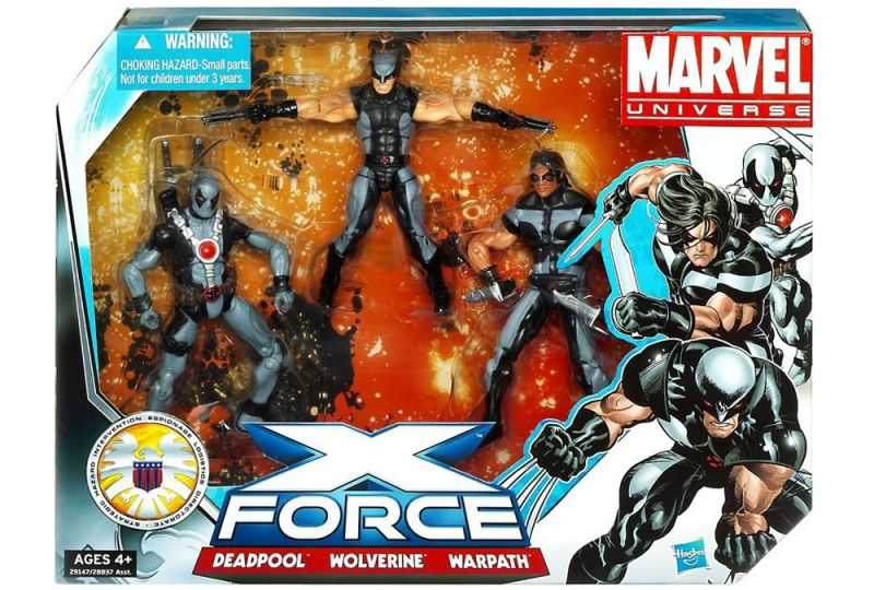 X-Force (Warpath; Deadpool; Wolverine)